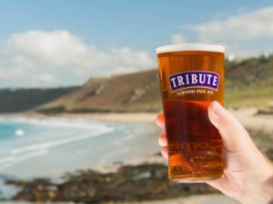 Find a pint of Tribute
