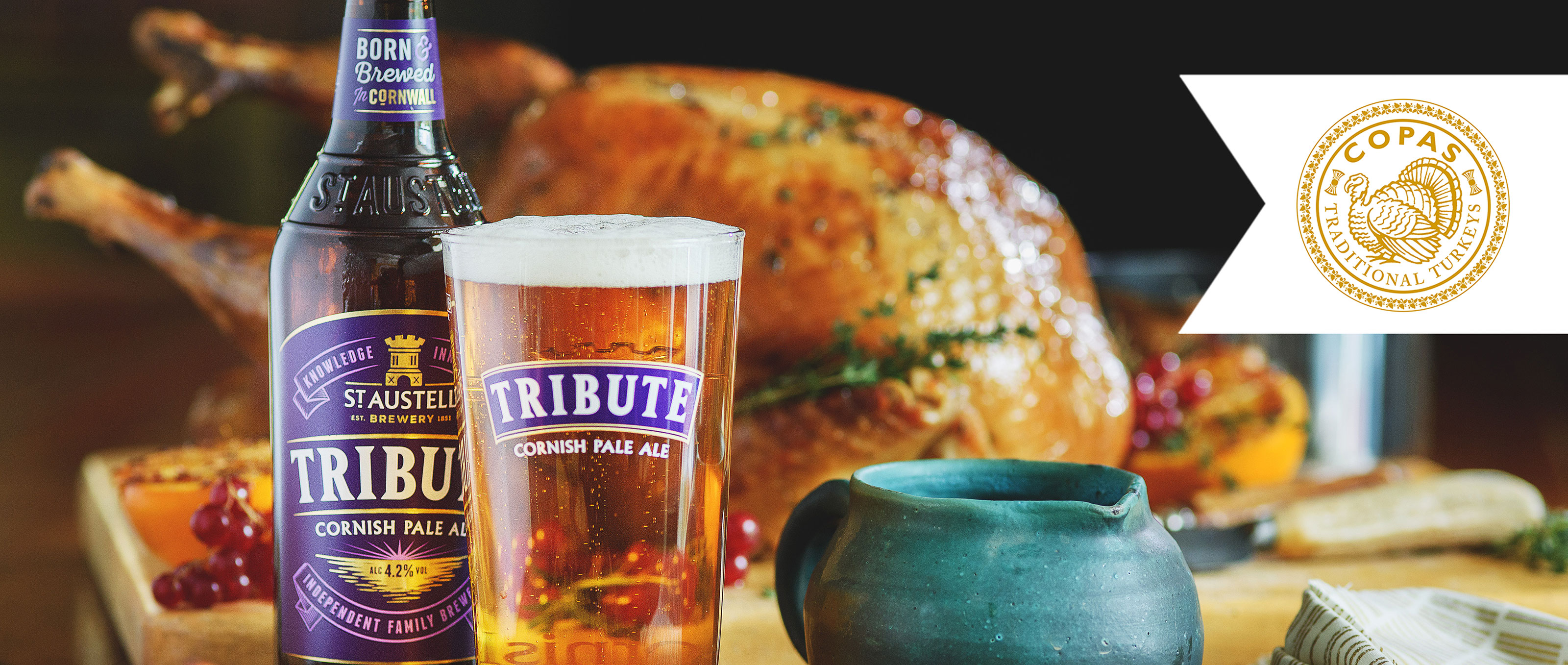 Copas Turkey with Tribute Ale